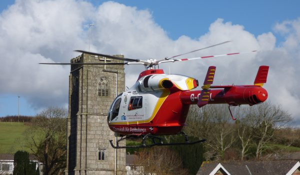 Cornwall Air Ambulance is on call 365 days a year