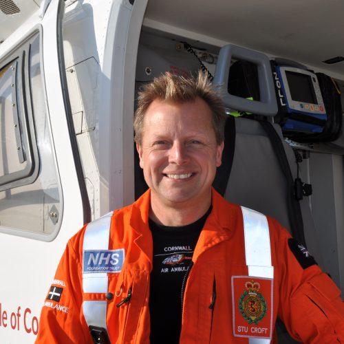 Stuart Croft - paramedic
