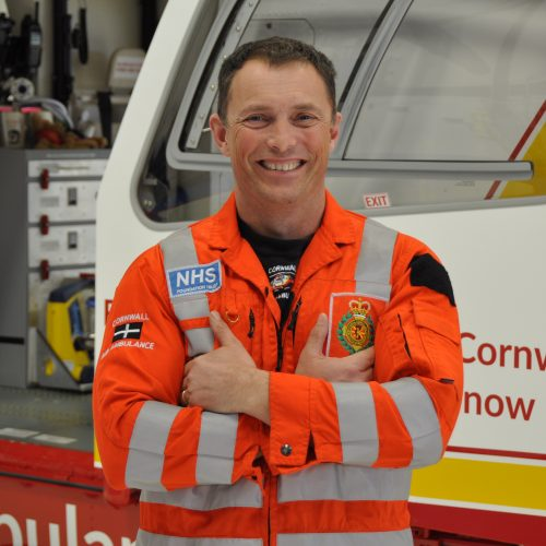 Jeremy Griffiths paramedic