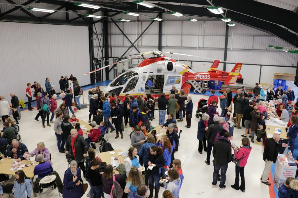 Cornwall Air Ambulance open day