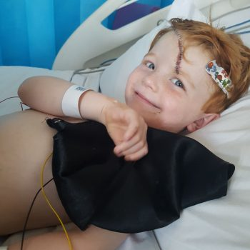 Your gift in your Will, could help someone like Talan, please help us, to help more people.